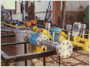 Piping Rack For Gas Mixing Station